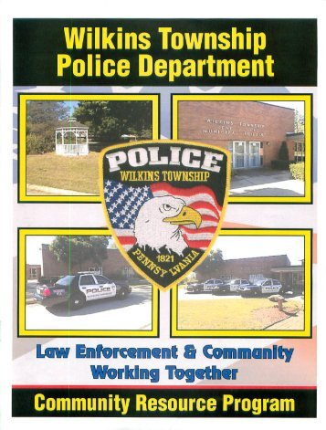 WTPD Community Resource Program - Wilkins Township