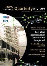 Quarterly Review: Issue 36 - Autumn 2012 - Eirgrid