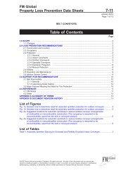 DS 7-11 Belt Conveyors (Data Sheet) - FM Global