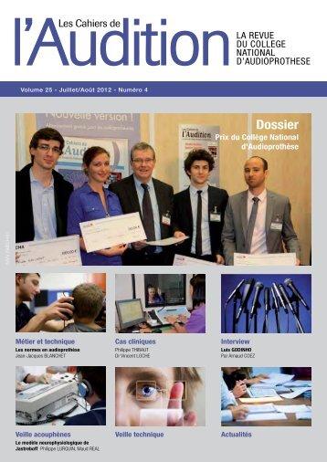Télécharger le PDF complet N°4 Année 2012 - Collège National d ...