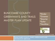 buncombe county greenways and trails master plan update