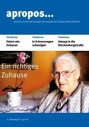 PDF herunterladen (479 KB) - Evangelische Diakoniestiftung Herford