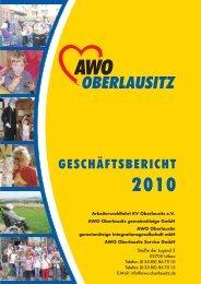 AWO Oberlausitz Geschäftsbericht 2010 - Arbeiterwohlfahrt ...