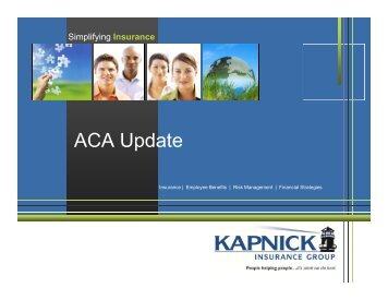 Bob Radecki ACA Presentation – September 2013 - Kapnick ...