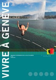 Magazine Vivre à Genève n° 51 - Ville de Genève