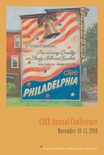 Philadelphia Registration Booklet - Council on International ...