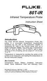 to download the 80T-IR Instruction Sheet (PDF ... - Tequipment.net