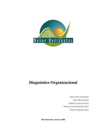Diagnóstico Organizacional - Faculdade Novos Horizontes