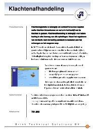 Folder algemeen - Brink Techniek