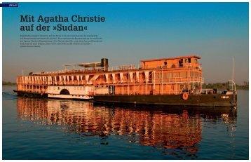 Mit Agatha Christie auf der Sudan - Habitz