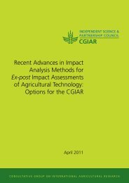 Recent Advances in Impact Analysis Methods for Ex-post Impact ...