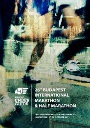 Hotel & Program overview - Budapest Marathon Organisation