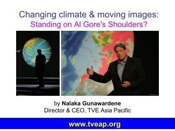 Changing climate & moving images.pdf - Sri Lanka Environmental ...