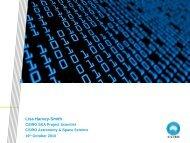 Data requirements for the SKA - CIRA