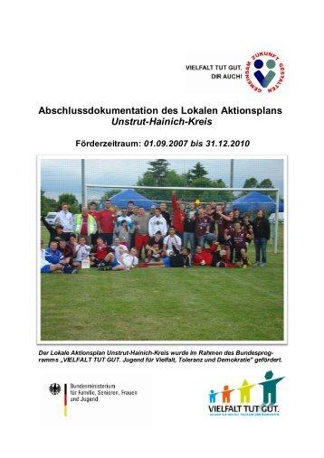 Abschlussdokumentation des Lokalen Aktionsplans Unstrut-Hainich ...