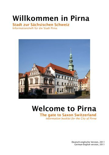 Welcome to Pirna Willkommen in Pirna - CJD Eutin und Hamburg