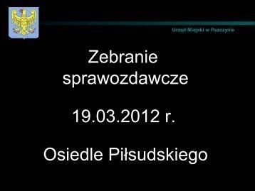 18. Osiedle Piłsudskiego - Pszczyna
