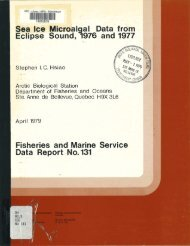 m. - Pêches et Océans Canada