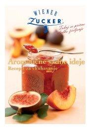 Knjižica z recepti za sadne ideje - Wiener Zucker
