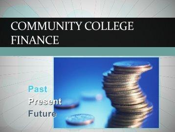 community college finance - Yosemite Community College District
