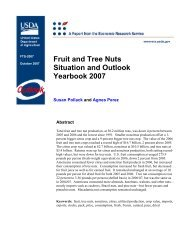 Fruit and Tree Nuts Situation and Outlook Yearbook 2007