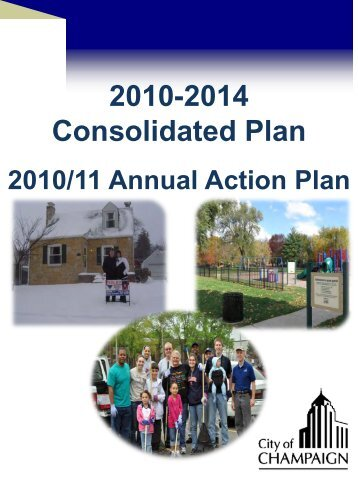2010-2014 Consolidated Plan - City of Champaign