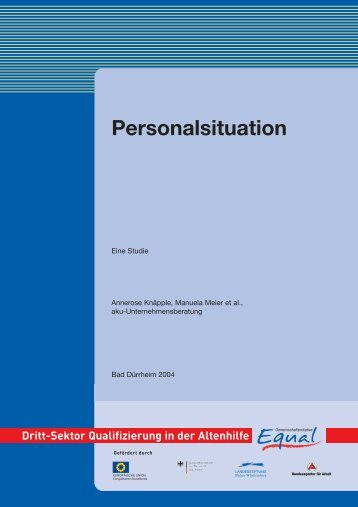 Personalsituation - Equal Altenhilfe