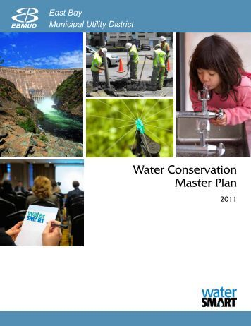 Water Conservation Master Plan - East Bay Municipal Utility District