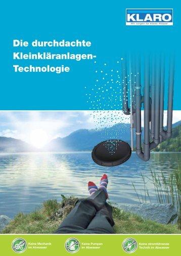 Keine Mechanik im Abwasser - Sahlbach Bau GmbH