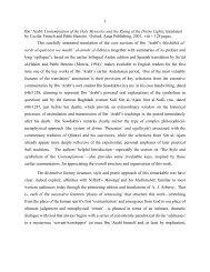 Ibn'Arabi & HisInterpreters - Muhyiddin Ibn Arabi Society