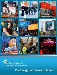 Verslo elgesio + etikos kodeksas - Clear Channel Communications