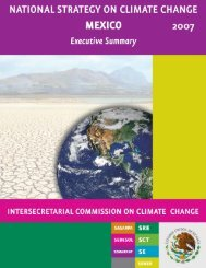 NatioNal Strategy oN Climate ChaNge