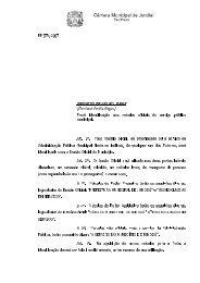 PROJETO DE LEI N°. 9.863 - Câmara Municipal de Jundiaí