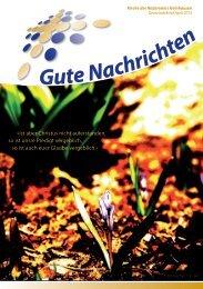 Gute Nachrichten April (PDF) - Kirche des Nazareners