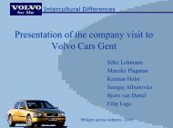 Group 5: Volvo Cars Gent