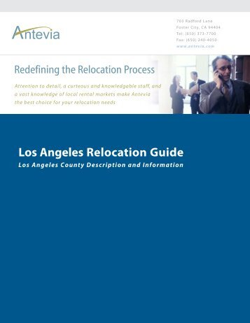 Los Angeles Relocation Guide - Antevia
