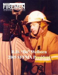 October 2004 - State Firemen's & Fire Marshals'