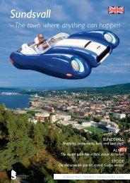 Shopping, restaurants, bars and sore feet! - Sundsvall