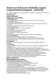 25 JArbSchG Rechtstext (pdf) - Bund-Verlag GmbH