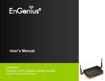 ESR9855G User Manual - EnGenius Technologies