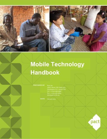 314_Mobile Technology Handbook - AfrEA 2.26.14