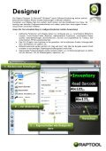 Software Development Suite - Raptool - Seite 3