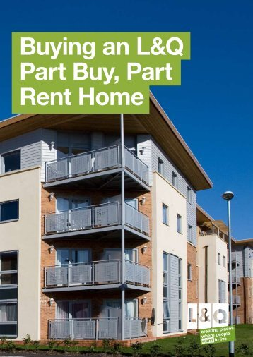 Buying an L&Q Part Buy, Part Rent Home - London & Quadrant Group