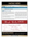 NATAS PSW December 2008 Newsletter - National Academy of ... - Page 3