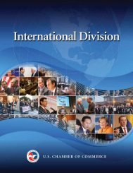 International Division - US Chamber of Commerce