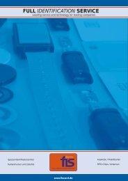 FULL IDENTIFICATION SERVICE - Fis Organisation GmbH