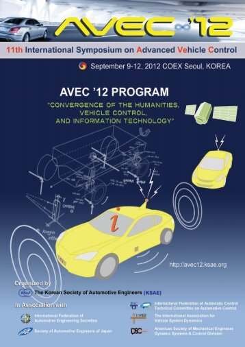 Technical Program Technical Program - AVEC '12