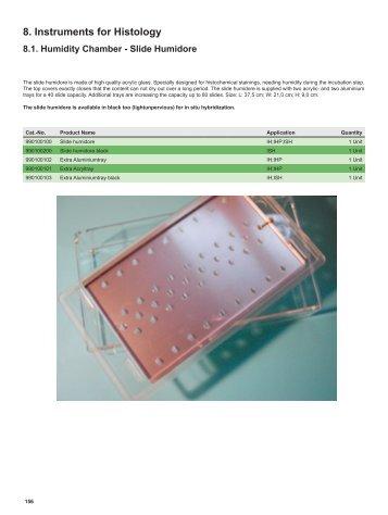 8. Instruments for Histology - quartett.com
