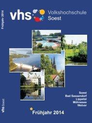 Frühjahr 2014 - Volkshochschule Soest