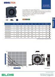 DC BLOWER 57x57x12mm - ELDIS Ehmki, Schmid OHG